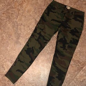 Forever 21 camo jeans